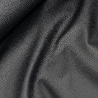 Lederimitat - weich - schwarz