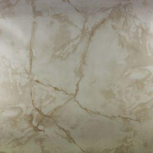 Wachstuch - marmoriert - creme