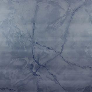 Wachstuch - marmoriert - navy