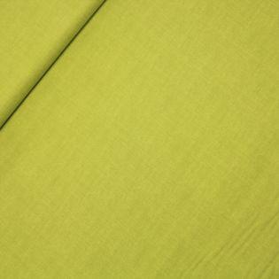 Baumwolle - falsches Uni - limette
