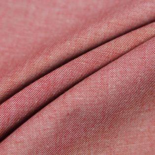 Baumwolle - 2-Tone - rot, weiß