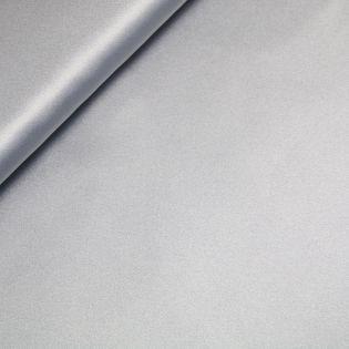 Reversible - Satin - uni - silber