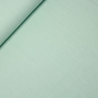 Reines Leinen - uni - mintgrün