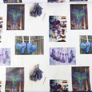 Wachstuch - Lavendel - Foto