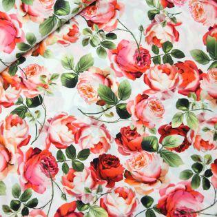 Seidenstretch - Rosendruck