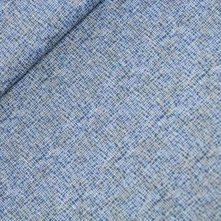 Baumwolle - Patchwork-Stoff - Nadelwerk - dunkelblau