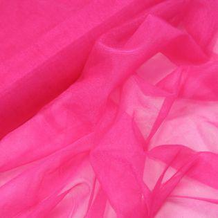 Softtüll - leicht - Glitzer - pink
