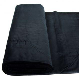 Feincord - uni - schwarz