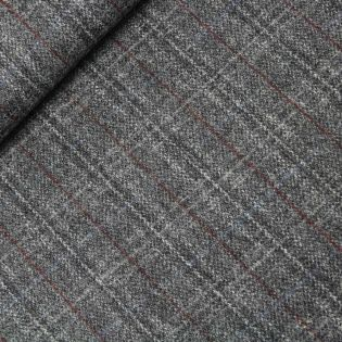 Original Harris Tweed - kariert - grau