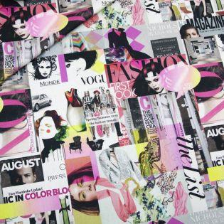 Dekostoff - Half Panama - Digital - Fashion