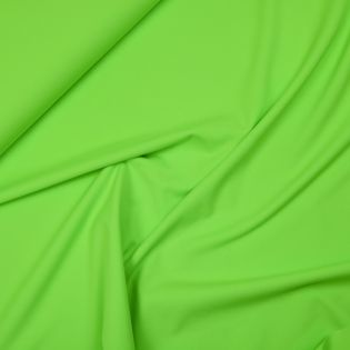 Badeanzugstoff - uni - neongrün
