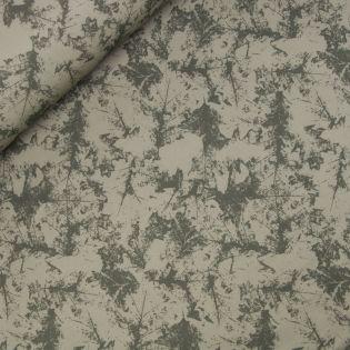 Softshell - Blätter - grün