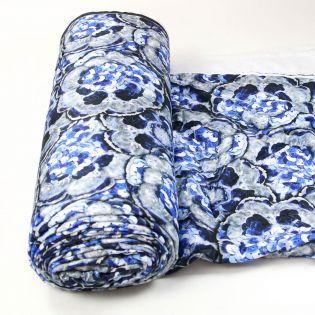 Stepper - Pailletten - blau