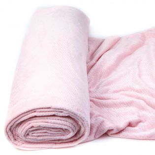 Wellnessfleece - Lurex - rose
