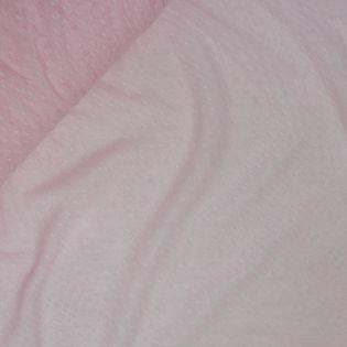 Softtüll - leicht - Tupfen - rose