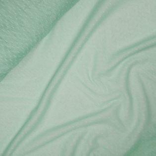 Softtüll - leicht - Tupfen - mint