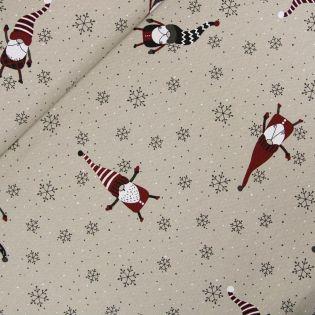 Dekostoff - Weihnachten - Weihnachtswichtel