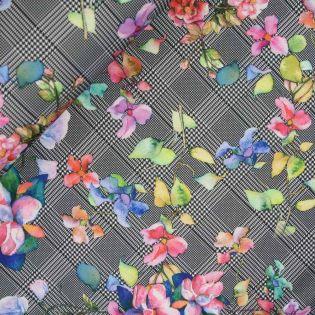 Scuba - MyImage - Glencheck - Flowers
