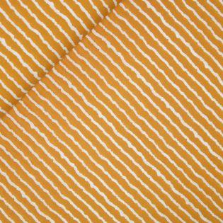 Viskosecrepe - Stitched by you - Streifen - gelb