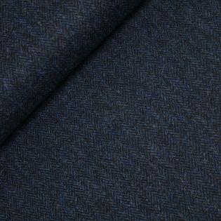 Original Harris Tweed - Herringbone - blau