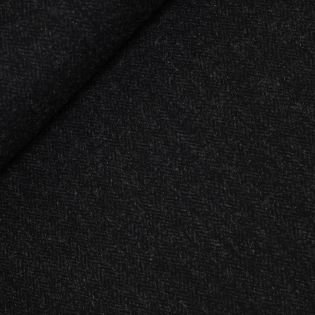 Original Harris Tweed - Herringbone - schwarz