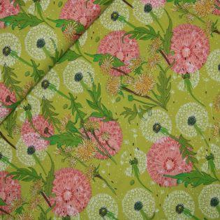 Baumwolle - Dandi Annie - Dandelion - grün