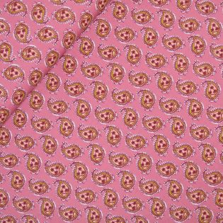 Baumwolle - Stretch - Piccolo Paisley