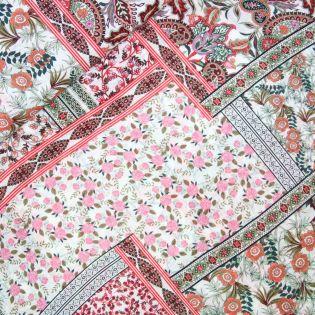 Baumwollvoile - Inkjet - Bordüren-Muster
