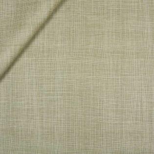 Baumwolle - beschichtet - Gittermuster - grün