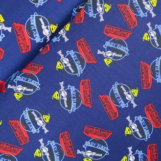 Baumwolle - Camelot Fabrics - Warner Bros - Superman - Daily Planet