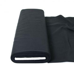 Mantelfilz - uni - schwarz