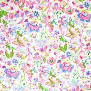 Printed Chiffon - Blumen