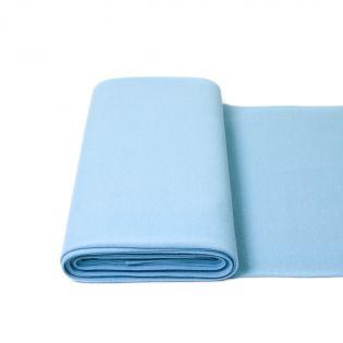 Bündchen - Premium - uni - hellblau
