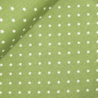 Alpenfleece - Stars - grün