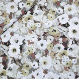 Baumwollvoile - Hapomonet - beige