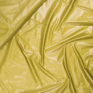 Hightech - Outdoor-Stoff - wasserabweisend - uni - senf