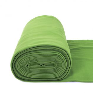 Supersoft Polarfleece - uni - grasgrün