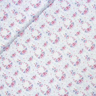 Baumwolle - Tilda - Old Rose - Lucy Lavender Mist