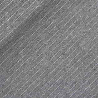 Flanell - Streifen - grau