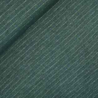 Flanell - Streifen - grün