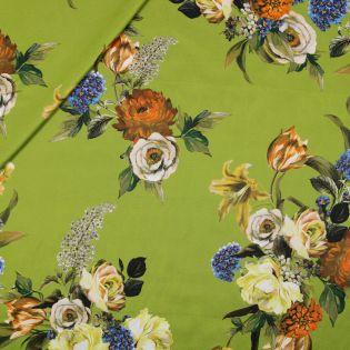 Seide - Blumenstrauß grün