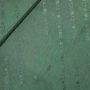 Futterstoff - Duchesse Jacquard  - tannengrün