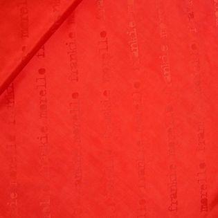 Futterstoff - Duchesse Jacquard  - rot