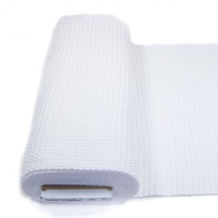 Waffelpiqué - XL - weiß