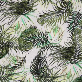 Leinen-Viskose - MissDoodle - Palmenblätter
