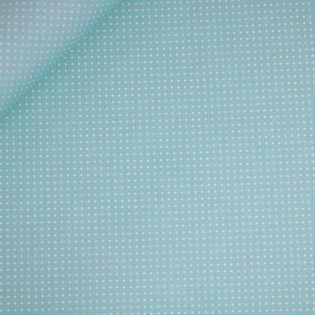 Baumwolle - beschichtet - Punkte