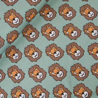 Jacquard - Baumwolle - Löwen