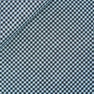 Cioni-Leinen - Karo - blau