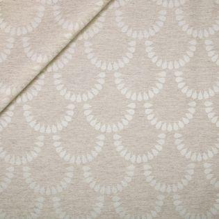 Baumwolle - beschichtet - Tropfen im Halbkreis
