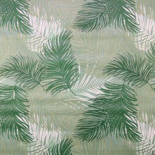 Wachstuch - Palmenblätter